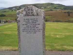 Gravestone of William Campbell