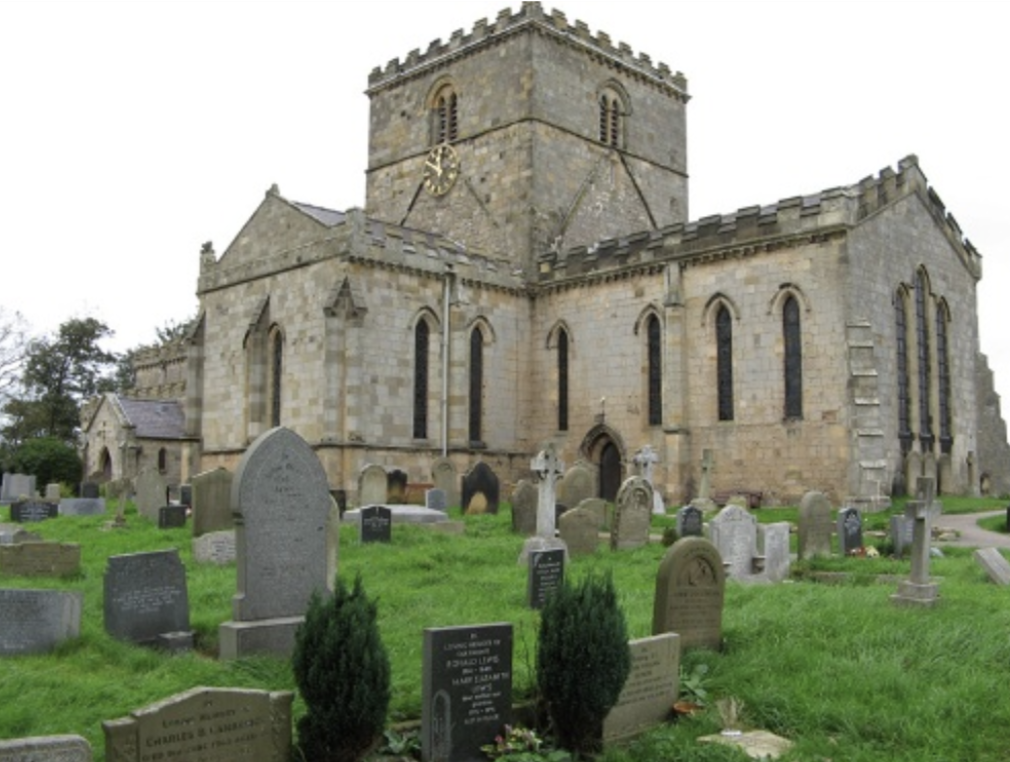 St Oswald's church, Filey